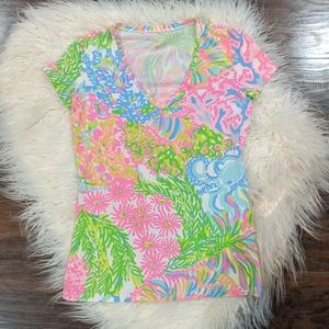 Lilly Pulitzer Tee size XS